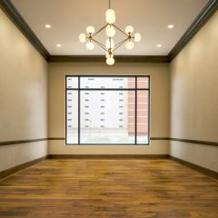 Large Room For Events With Wood Floors
