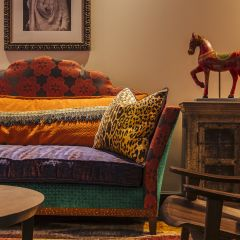 Indian Inspired Couch
