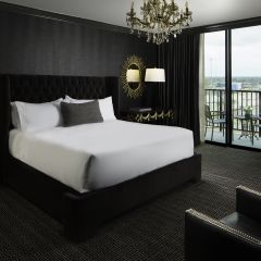 Black And Gold Bedroom Suite