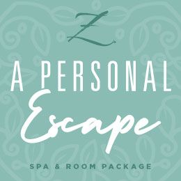 A Personal Escape Spa & Room Package Graphic